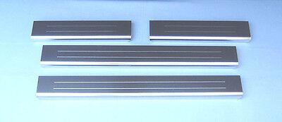 Lockwood BMW X6 2009+ Car Stainless Steel Kick Plate Door Sill Protectors - K194