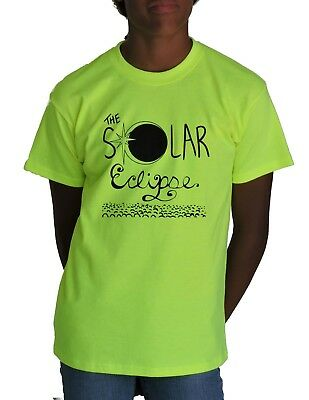 Eclipse Solar Moon 08.21.17 August Sun Funny DT Youth Kids T-Shirt Tee