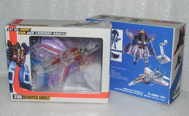 New Transformers DX9 X16G Usurper Ghost Starscream Figure In Stock
