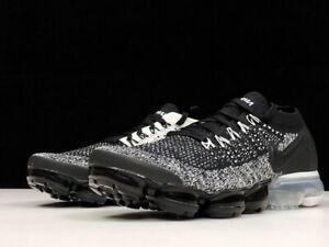designer fashion 208a8 8e6b8 NIKE AIR VaporMax Flyknit 2.0 2018 MEN(Black) and (White)Running ...