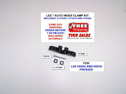 FT3570 AND TWO TF3567 INCLUDES A TF3566 LEE AIC KIT AUTO INDEX CLAMP KIT