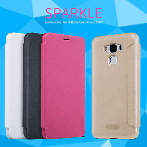 sale retailer b099c 4929f Details about Nillkin Flip PU Leather Full Front Case Back Cover For Asus  Zenfone 3 /3s Max