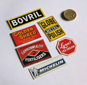 G-SCALE-GARDEN-GAUGE-WEATHERPROOF-6-PACK-S4-RAILWAY-ADVERTISING-SIGNS