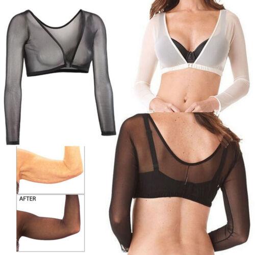 Hot Women/'s Seamless Arm Shaper Slim Upper Sleeves Compression Vest Body Shaper