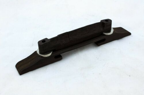 Rosewood Archtop Adjustable Acoustic Floating Guitar Bridge, NEW