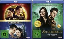 3 Blu-rays * RUBINROT / SAPHIERBLAU + SMARAGDGRÜN IM SET#NEU OVP $