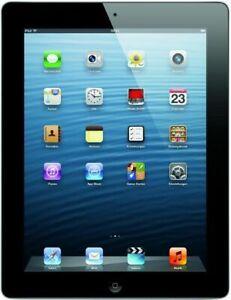 Apple IPAD 4 16GB Compressa 9.7 Pollici Wifi+ LTE Nero 4. Gen. (Md522kn/A)