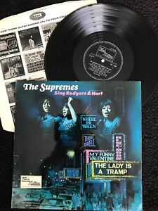 The-Supremes-Sing-Rodgers-amp-Hart-Vinyl-LP-UK-Tamla-Motown-TML-11054-1967