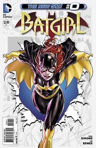 NM+ BATGIRL #0 DC New 52 Comics High Grade 1st Print Near Mint
