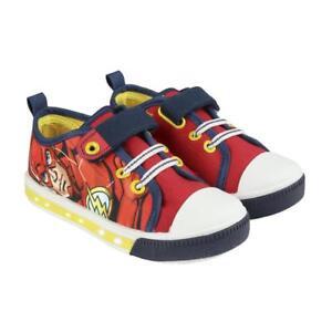 more photos a69cf 32fb9 Details zu Sneaker Avengers Flash Rot blinkende Kinderschuhe Jungenschuhe  Sportschuhe Sh...