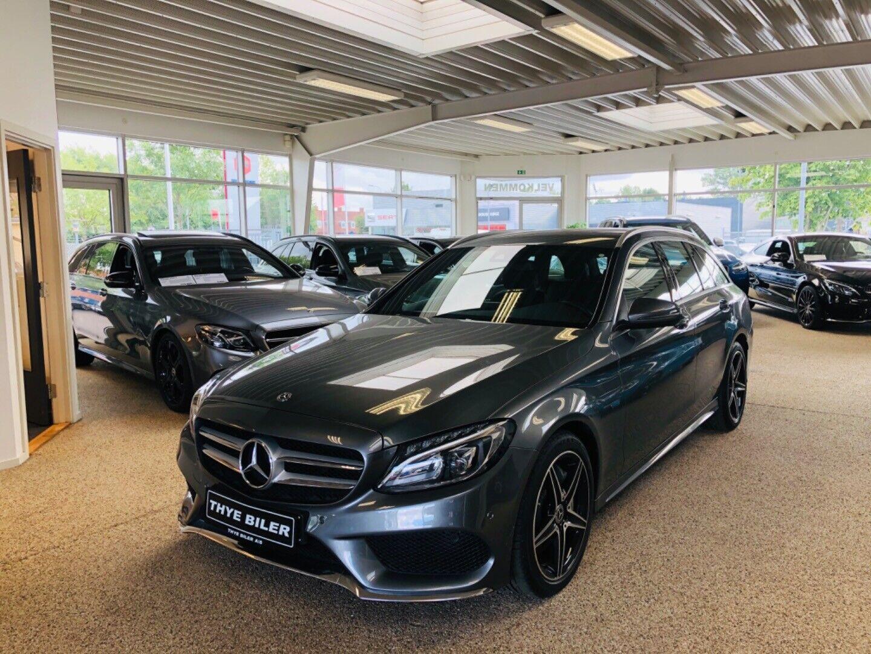 Mercedes C350 e 2,0 AMG Line stc. aut. 5d - 2.495 kr.