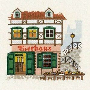 Bierhaus PUB Cross Stitch Kit Riolis R1219 							 							</span>