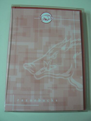 ARKANSAS RAZORBACKS NOTECARDS Red Hogs Sports