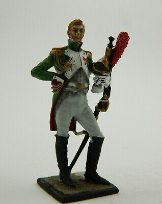 Napoleonic Wars — France Voltigeurs officer — 54 mm Lead Figure