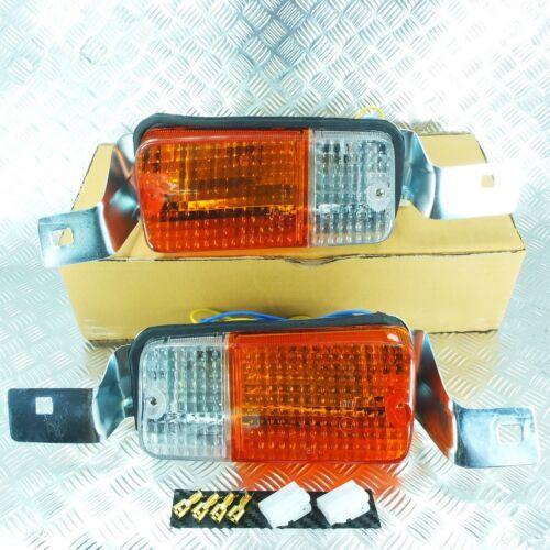 FRONT BUMPER PARKING TURN SIGNAL LIGHT LAMP FIT COROLLA KE30 KE35 TE31 TE37