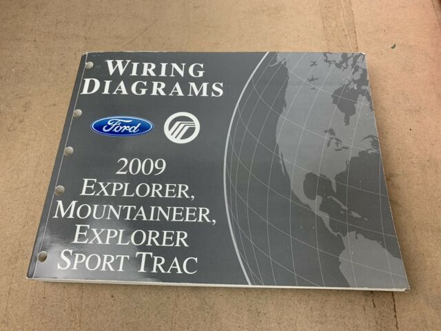 2009 Ford Explorer  Mountaineer  Explorer Sport Trac