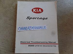 2000 Kia Spectra Electrical Troubleshooting Manual Wiring Diagrams ...