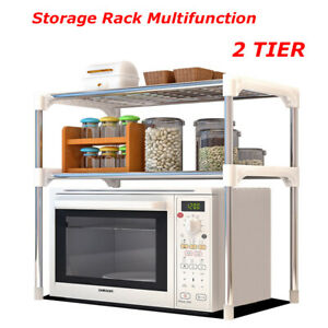 Kitchen Microwave Oven Rack Shelving