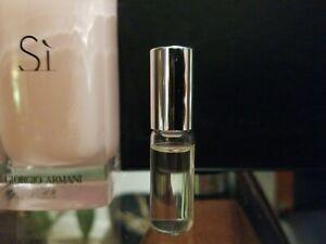 New Armani Si Fiori Eau De Parfum 2019 Perfume Sample Rollerball