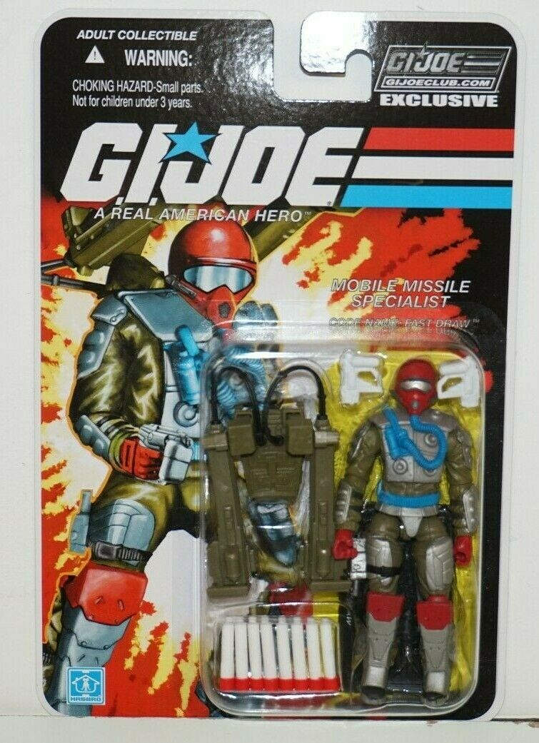 GI JOE COBRA COLLECTORS CLUB EXCLUSIVE FSS 8-05 FAST DRAW MOC