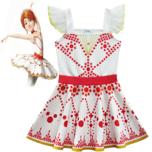 FELICIE Costume Robe Tutu Jupe Robe HYM 2018 nouvelles filles Film Ballerine Leap