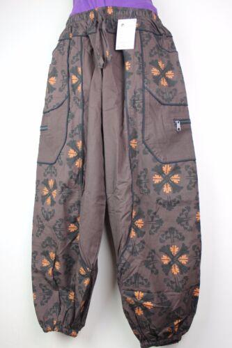 Casual Vintage Sacchetto Harem Pantaloni Hippie Boho Yoga Pantaloni Festival Da Combattimento HT15