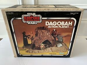STAR-WARS-DAGOBAH-PLAYSET-MISB-VINTAGE-KENNER-1980-YODA-SWAMP-LUKE-DARTH-VADER