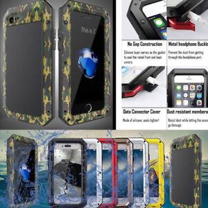 Aluminum-Metal-Shockproof-Waterproof-Gorilla-Glass-Case-Cover-for-iPhone-Samsung