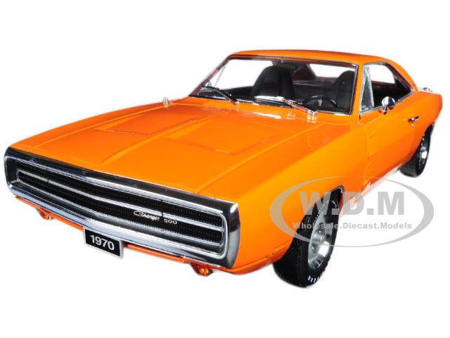1970 DODGE CHARGER HEMI orange 1 18 DIECAST MODEL CAR BY GREENLIGHT 19028