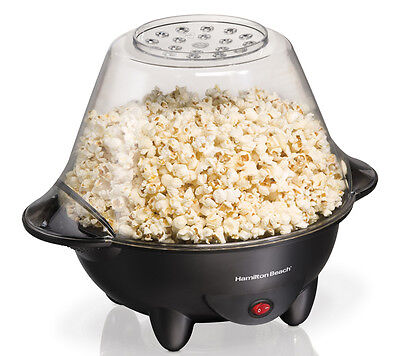 New HamiltonBeach 73300 20-Cup Hot Oil Electric Countertop Popcorn Popper Maker