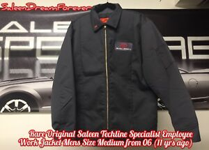 Image Is Loading Rare Saleen Employee Mechanic Work Mens Med Jacket