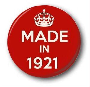 fabrique-en-1921-2-5cm-25mm-Insigne-de-bouton-nouveaute-mignon-97th