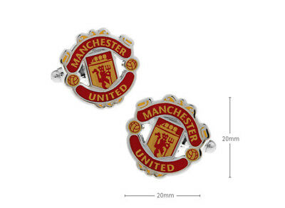 New Manchester United Football Club Crest Cufflinks 998855782779 Ebay