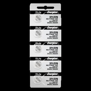 Energizer-371-370-silver-oxide-coin-cell-batteries-Pack-de-5-Tear-Strip