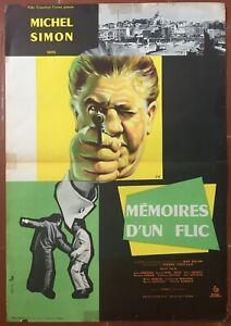 Affiche-MEMOIRES-D-039-UN-FLIC-Suzy-Prim-MICHEL-SIMON-Pierre-Foucaud-40x60cm