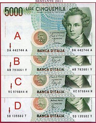 Gem UNC Italy P-111c 1985 5000 Lire