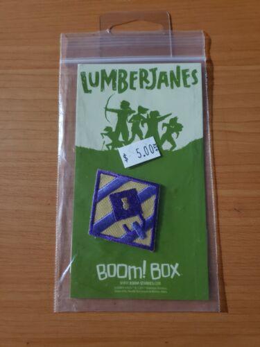 box #1 NEW SEALED! Lumberjanes Jail Break Iron On Patch Boom