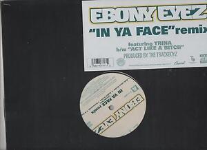 Ebony eyez in ya face