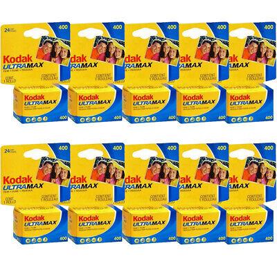10/Rollos Kodak Ultra Max GC 135/-/36/-/Pel/ícula de 35/mm ISO 400/de impresi/ón de color PACK OF 10