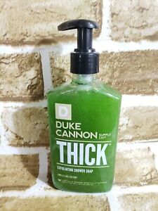 Duke-Cannon-THICK-Exfoliating-Shower-Soap-Gel-Body-Wash-Navel-Supremacy-New