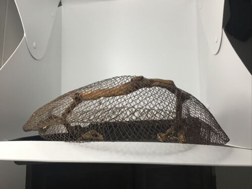 Victorian Vintage Woven Wire Bustle Pad Crinolette