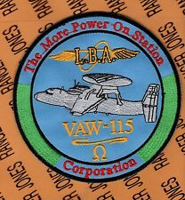 USN Navy VAW-115 Carrier Airborne Early Warning Squadron L.B.A. patch