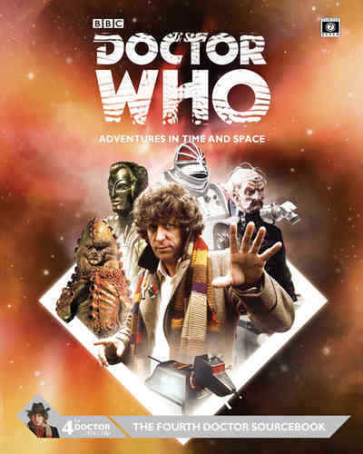 DOCTOR WHO ROLEPLAYING GAME - THE FOURTH DOCTOR SOURCEBOOK  - CUBICLE 7