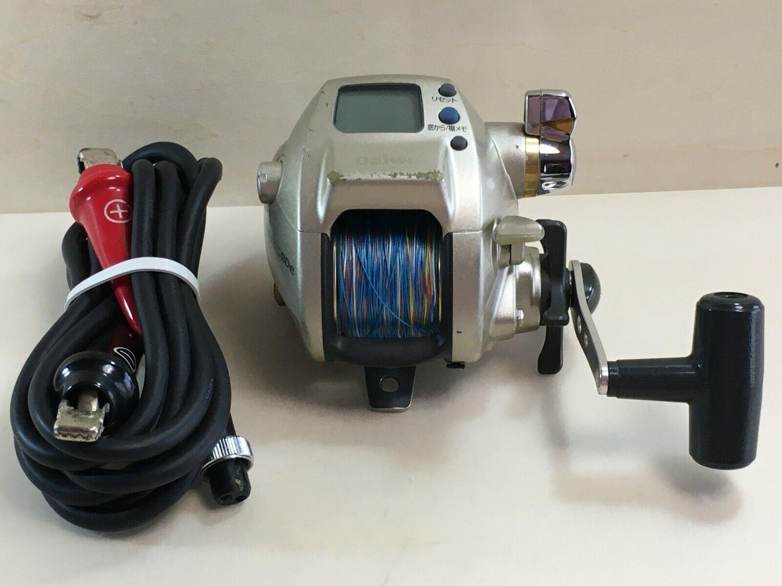 Daiwa HYPER TANACOM 400BDe  Electric Reel Big Game Saltwater Deep Sea  good 108