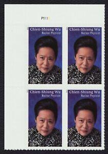 #5557 Chien-Shiung Wu, Placa Bloque [P1111 Ul ] Nuevo Cualquier 5=