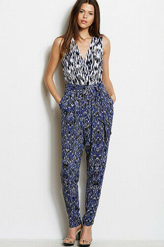NWOT Armani Exchange Mixed Print Jumpsuit - Sz 2 -