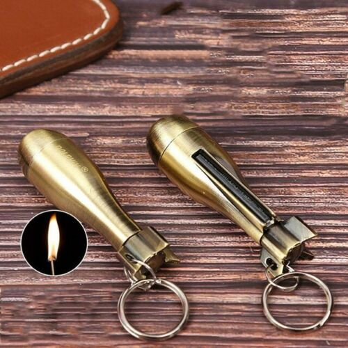 HONEST Flint Stone Fire Starter Flint Match Lighter Survival *Free Shipping*