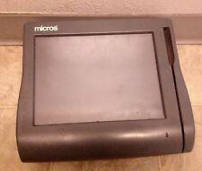 Micros Workstation 4 500614 001 Touch Screen Pos System Unit No Stand