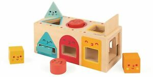 Janod-GEOMETRIC-SHAPES-BOX-Wooden-Toy-BN