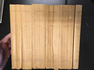Vito-Pandolfi-La-Commedia-dell-039-arte-6-volumi-Firenze-Sansoni-1957-61